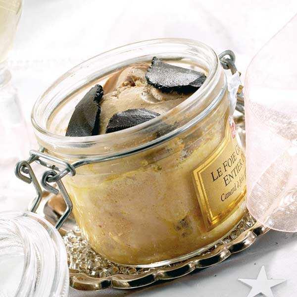 Valette Foie gras d'oie entier truffé 5% - Bocal 180g