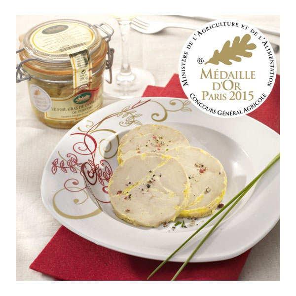 Valette Foie gras de canard entier du Sud-Ouest IGP - Bocal 90g (2 parts)
