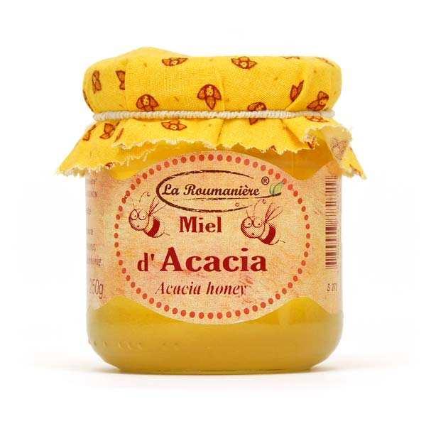 La Roumanière Miel doux d'acacia - Bocal 250g