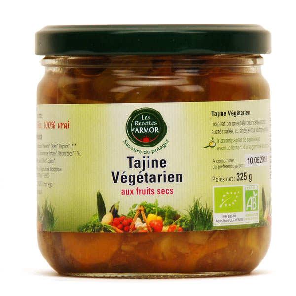 Les recettes d'Armor Tajine végétarien aux fruits secs bio - Bocal 325g