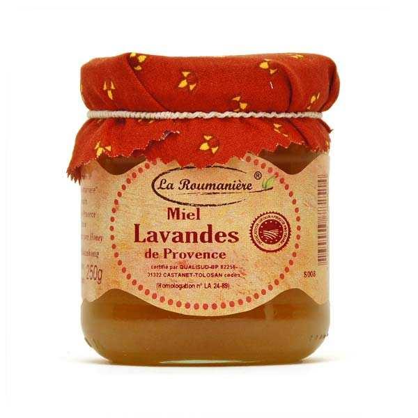 La Roumanière Miel de lavande de Provence - 3 bocaux de 240g