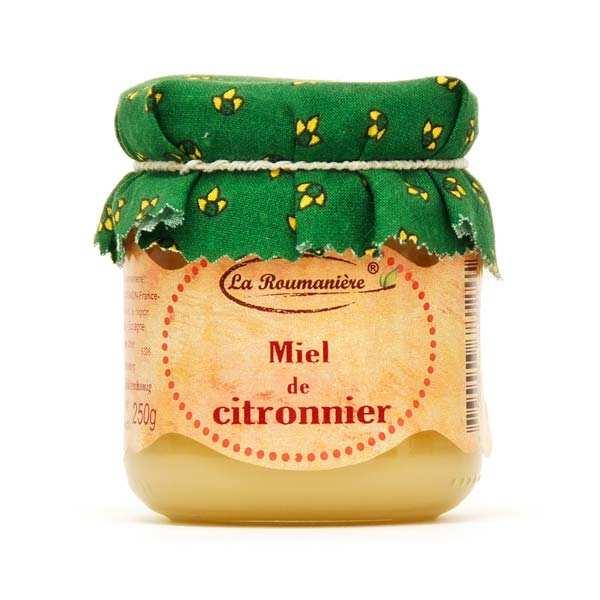 La Roumanière Miel de Citronnier d'Espagne - 3 pots de 250g