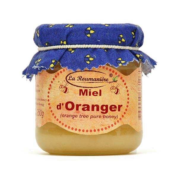 La Roumanière Miel d'Oranger - Bocal 250g