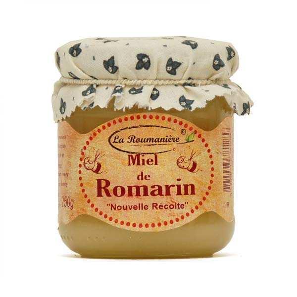 La Roumanière Miel de romarin - Bocal 250g