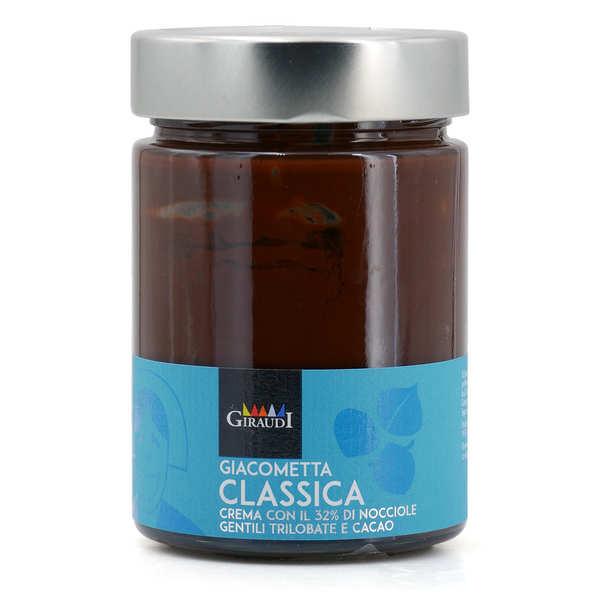 Giacomo Boidi Giacometta - Pâte à tartiner au chocolat et aux noisettes - Pot 300 g