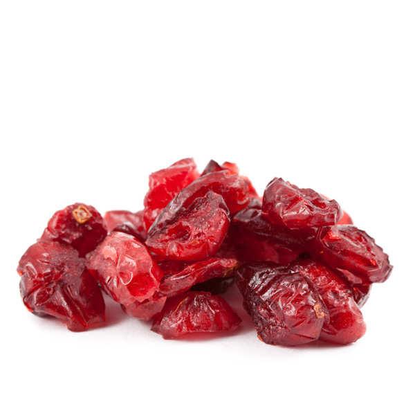 Jus Bio & Cie Baies de cranberry / canneberge séchées et sucrées - 3 sachets de 500g