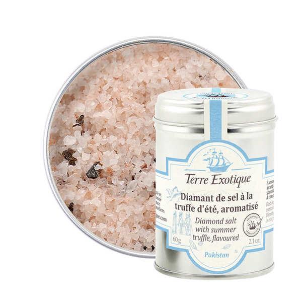Terre Exotique Diamant de sel à la truffe d'été du Cachemire - Pot 60g