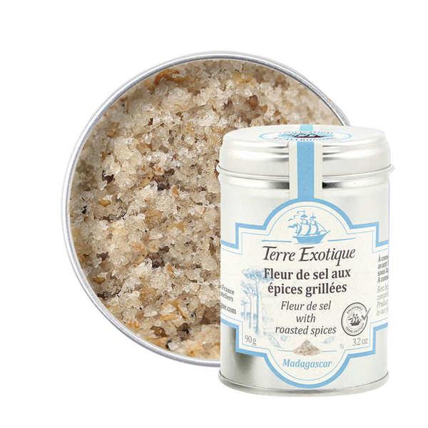Terre Exotique Fleur de sel aux épices grillées - Pot 90g