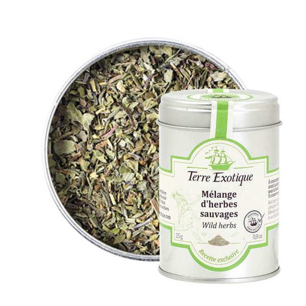Terre Exotique Mélange aromatique d'herbes sauvages - Pot 25g