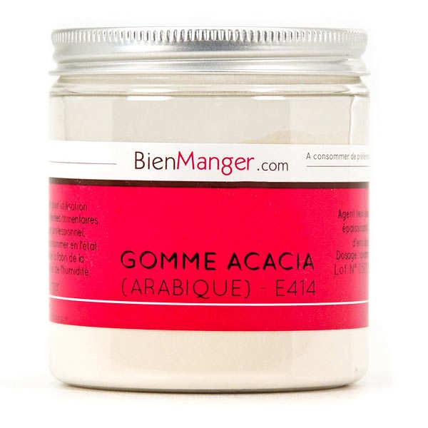 BienManger aromes&colorants Gomme arabique - gomme d'acacia 100% naturelle - Pot 100g