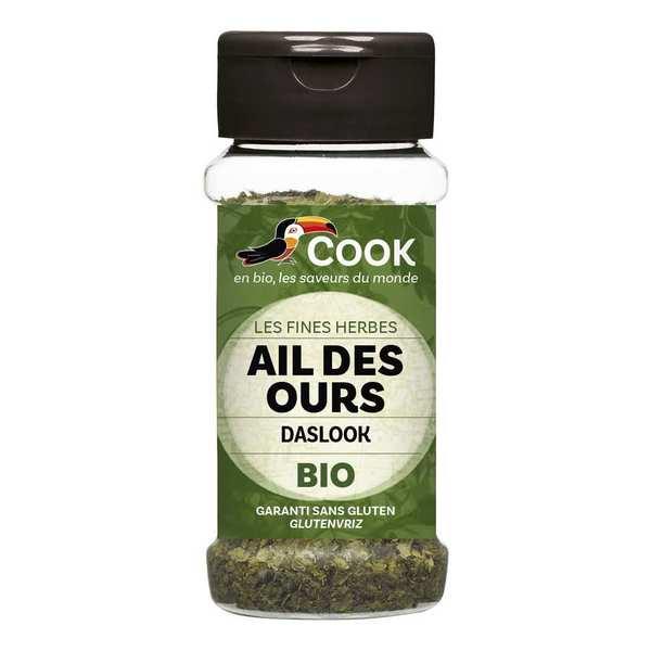 Cook - Herbier de France Ail des ours bio - 3 pots de 16g