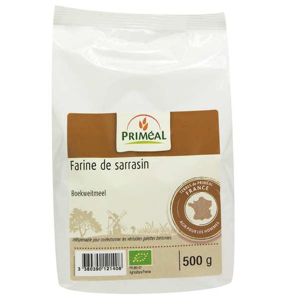 Priméal Farine de sarrasin bio - 3 sachets de 500g