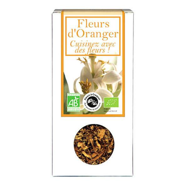 Aromandise Fleurs d'oranger comestible bio pour infusion et cuisine - Boîte30gr