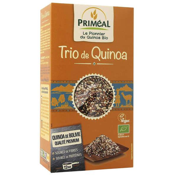 Priméal Trio de quinoa Bio - Sachet 500g