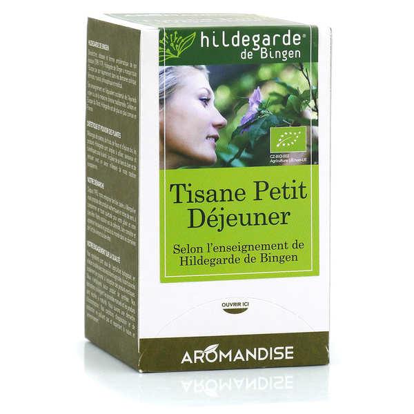 Aromandise Tisane bio Petit-Déjeuner Hildegarde de Bingen - Boîte 18 sachets