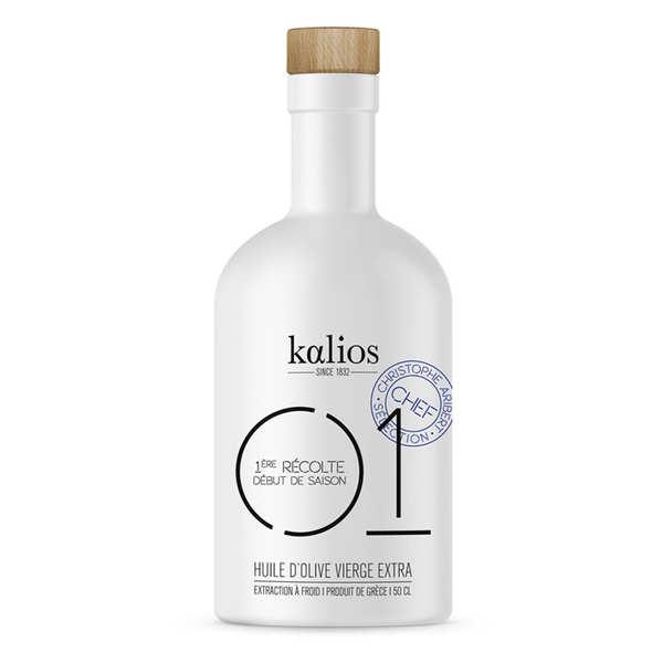 Kalios Huile d'olive vierge extra de Grèce - 01 Caractère - Kalios - Bouteille 50cl