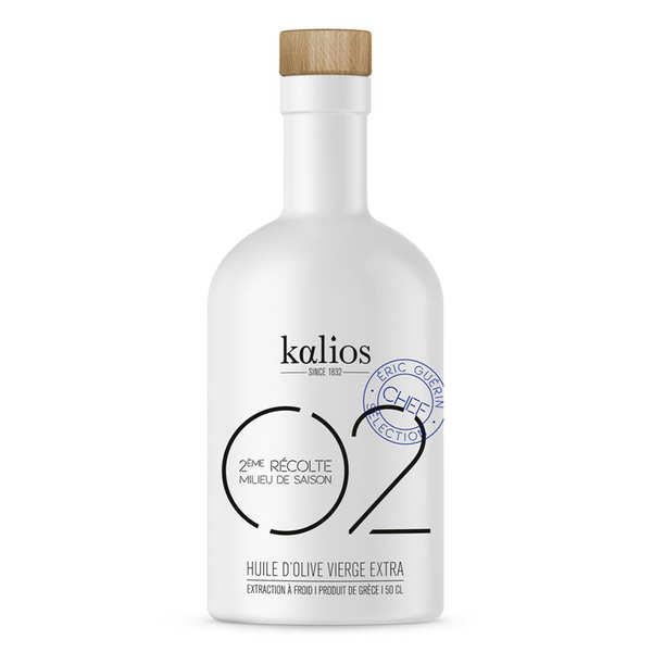 Kalios Huile d'olive vierge extra de Grèce - 02 Equilibre - Kalios - Bidon 25cl