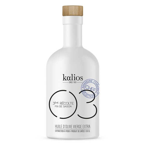 Kalios Huile d'olive vierge extra de Grèce - 03 Douceur - Kalios - Bouteille 50cl