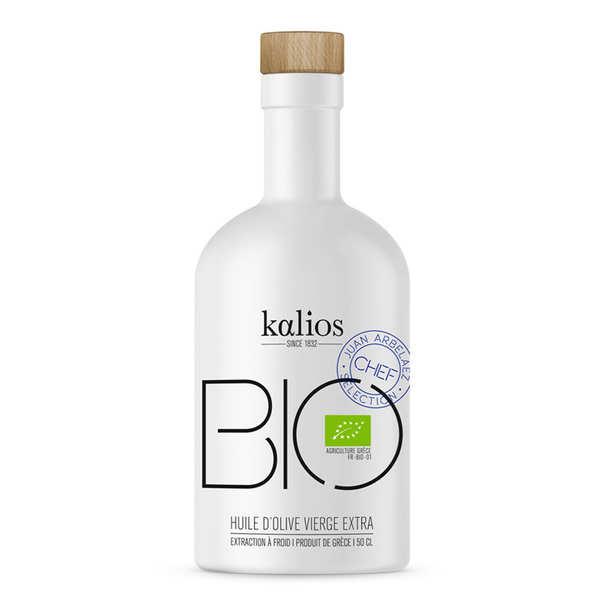 Kalios Huile d'olive vierge extra bio de Grèce - 3 bouteilles de 50cl
