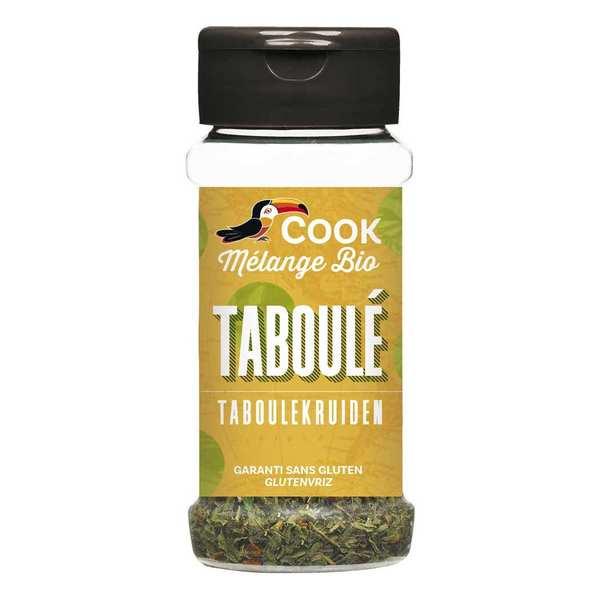Cook - Herbier de France Mélange d'épices pour taboulé bio - Flacon 17g
