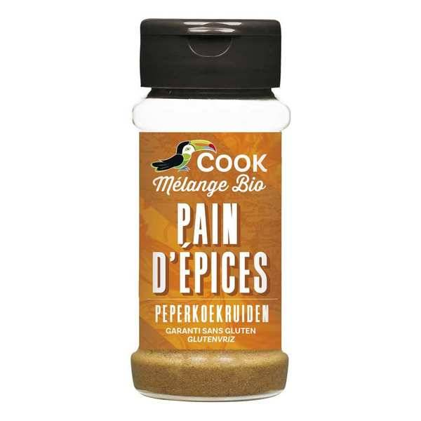 Cook - Herbier de France Mélange pour pain d'épices bio - Flacon 32g