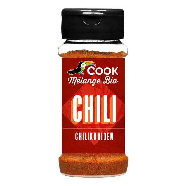 Cook - Herbier de France Mélange d'épices pour Chili bio - Flacon 35g