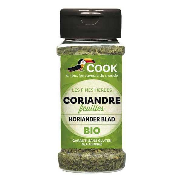 Cook - Herbier de France Feuilles de coriandre déshydratées bio - Flacon 15g