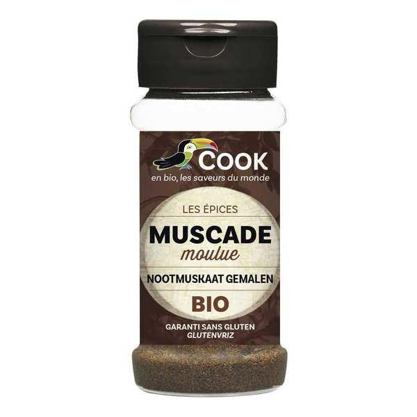 Cook - Herbier de France Muscade moulue bio - Flacon 35g