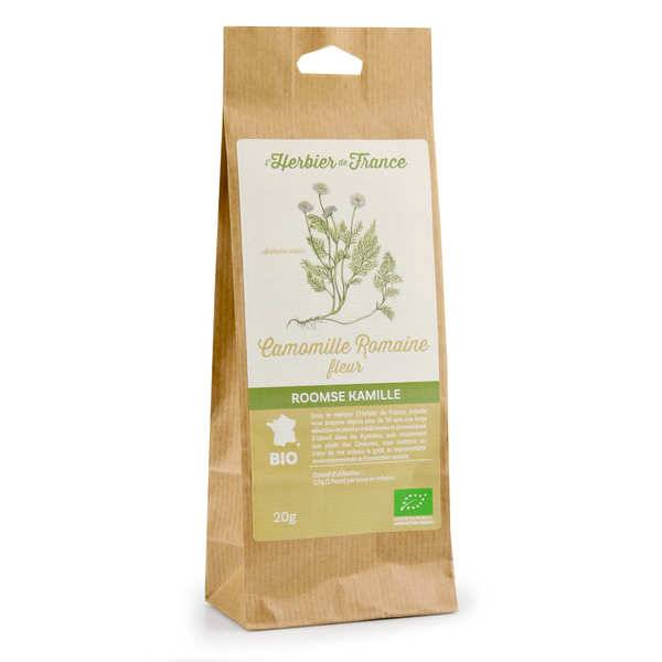 Cook - Herbier de France Infusion Camomille bio - Sachet 20g
