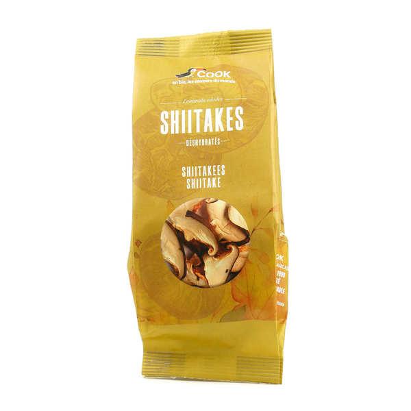 Cook - Herbier de France Shiitakes déshydratés bio - Sachet 25g