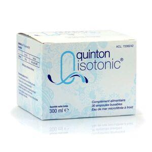 Quinton Isotonic - 30 ampoules buvables - Boîte 30 ampoules de 10ml - Publicité