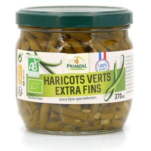 Priméal Haricots verts extra fins bio de France - Bocal verre 330g (185g net égoutté) - Publicité