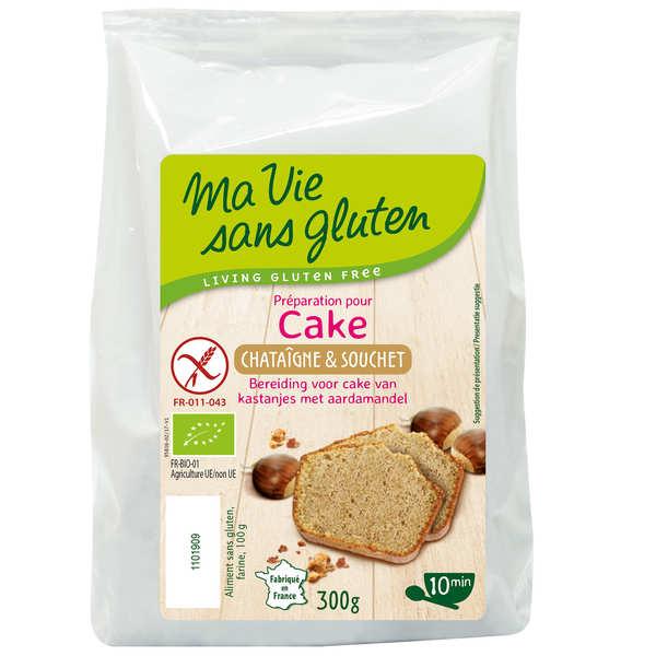 Ma vie sans gluten Préparation sans gluten pour cake à la chataigne et au souchet bio - Sachet 300g