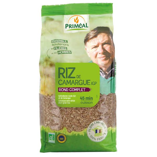 Priméal Riz rond complet de Camargue Bio - sachet de 1kg