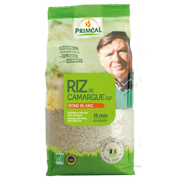 Priméal Riz rond blanc de Camargue Bio - Sachet 1kg
