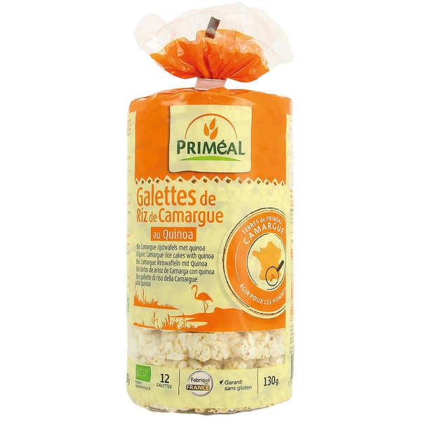 Priméal Galettes de riz de Camargue au quinoa Bio - Sachet 130g