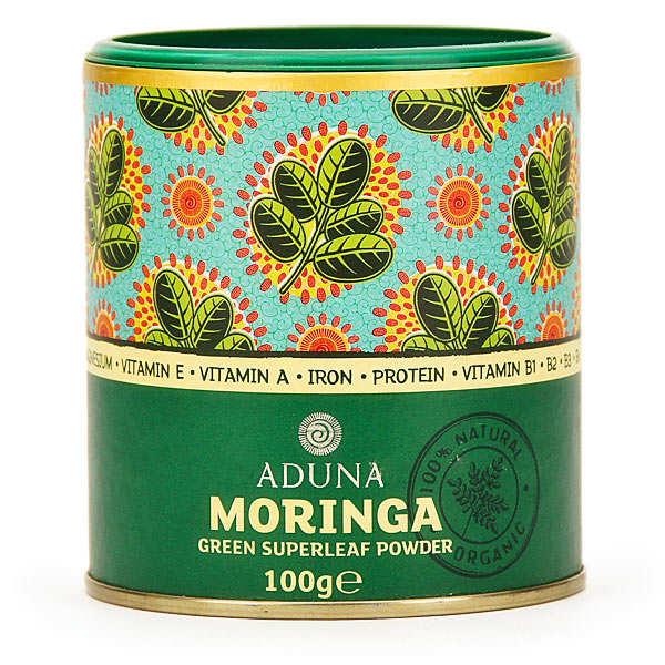 Aduna Poudre de Moringa - Boite 100g
