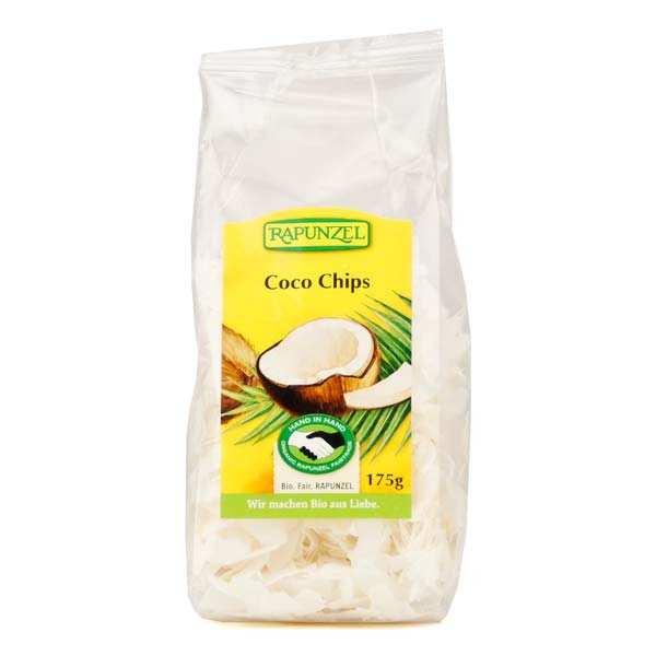 Rapunzel Copeaux de noix de coco bio équitable - Lot 3 sachets de 175g