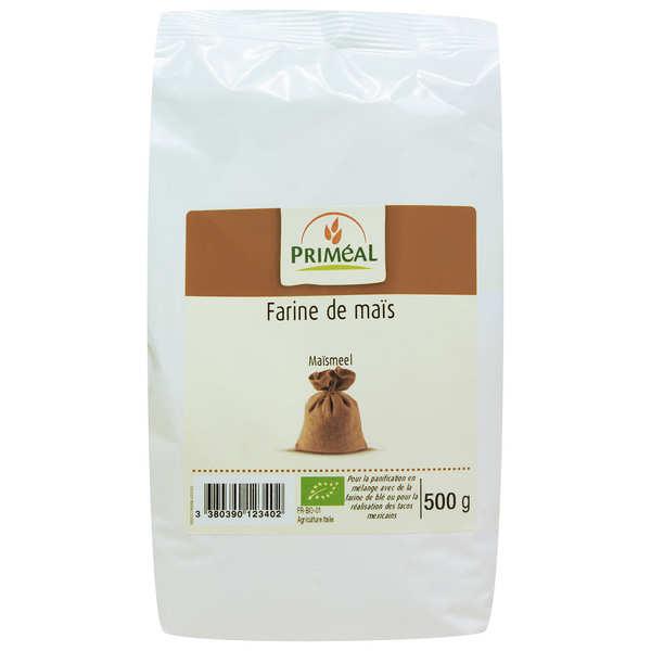 Priméal Farine de maïs bio - Lot 3 sachets de 500g