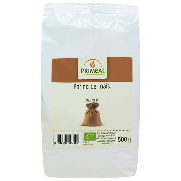Priméal Farine de maïs bio - Lot 6 sachets de 500g