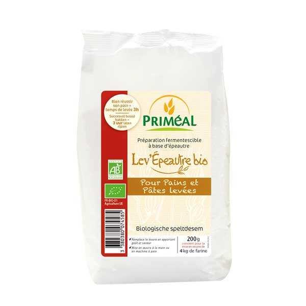 Priméal Levain d'épeautre fermentescible bio - Sachet 200 g