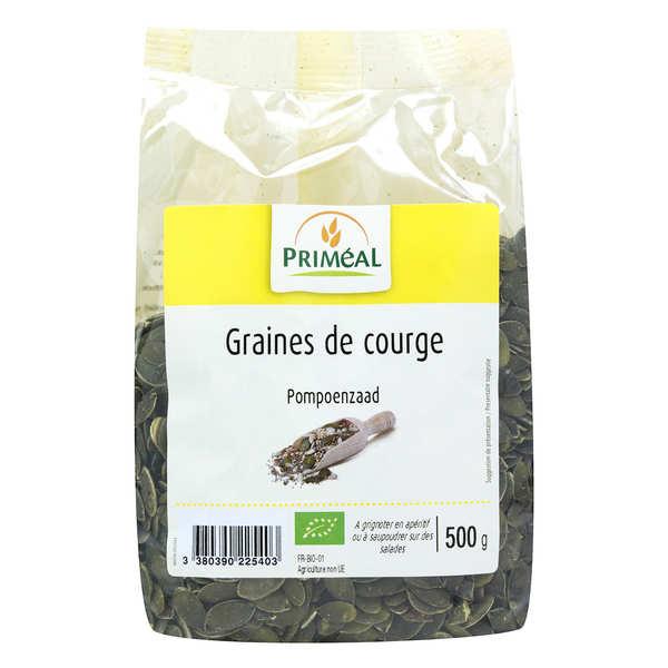 Priméal Graines de courge bio - Sachet 250g