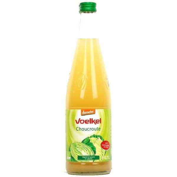 Voelkel GmbH Jus de choucroute lacto fermenté bio - 3 bouteilles verre 70cl