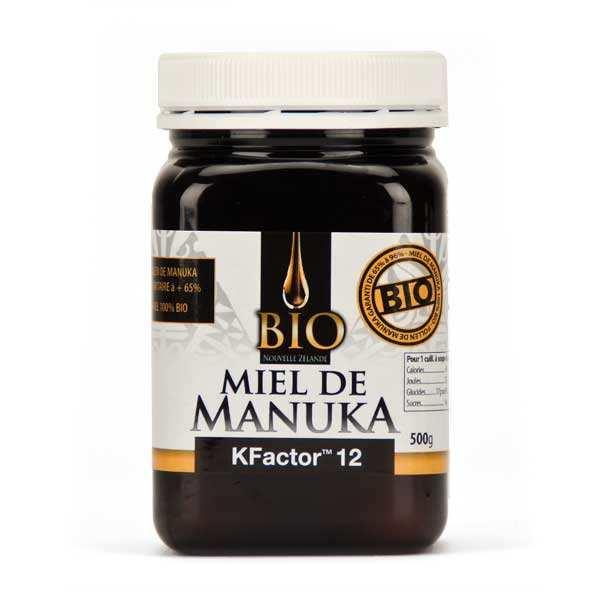 Dr. Theiss Miel de Manuka actif Bio TPA 12+ - Pot 250g