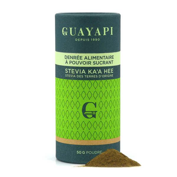 Guayapi Tropical Stevia en poudre verte - Pot 50g