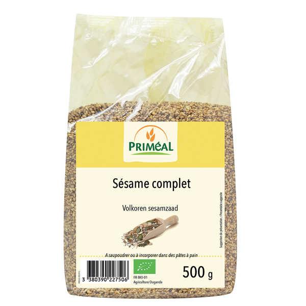 Priméal Sésame complet bio - Sachet 500g