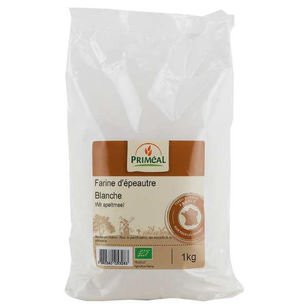 Priméal Farine blanche d'épeautre bio - Sachet 1kg