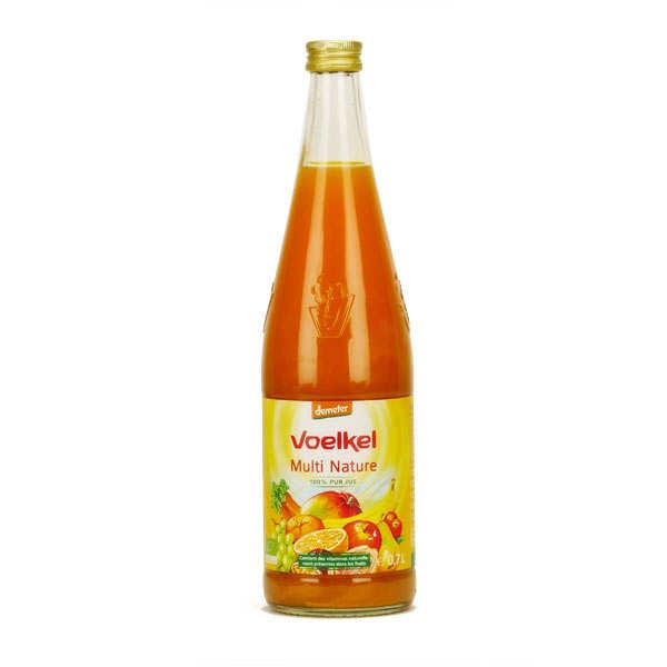 Voelkel GmbH Jus multi nature aux fruits exotiques et carottes bio demeter - Lot de 6 bouteilles 70cl
