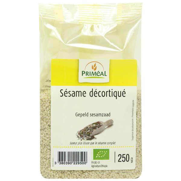 Priméal Sésame décortiqué bio - Sachet 250g