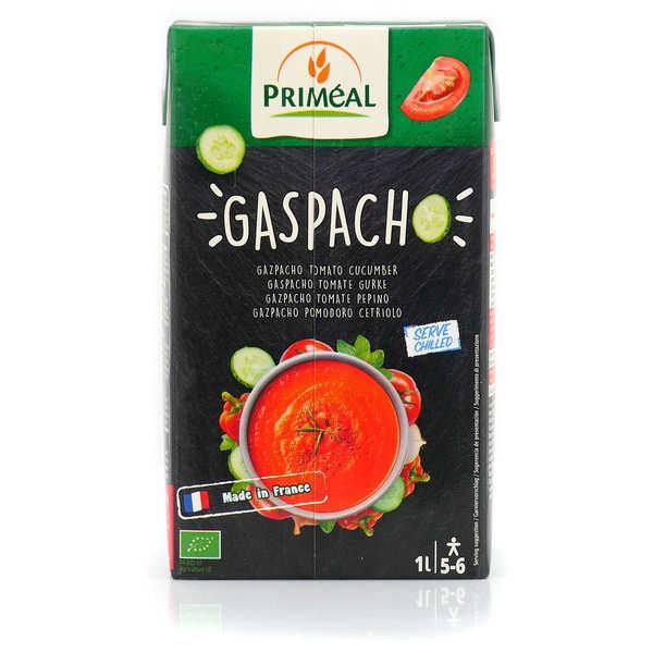 Priméal Gaspacho de tomates concombres bio - Brique 1L